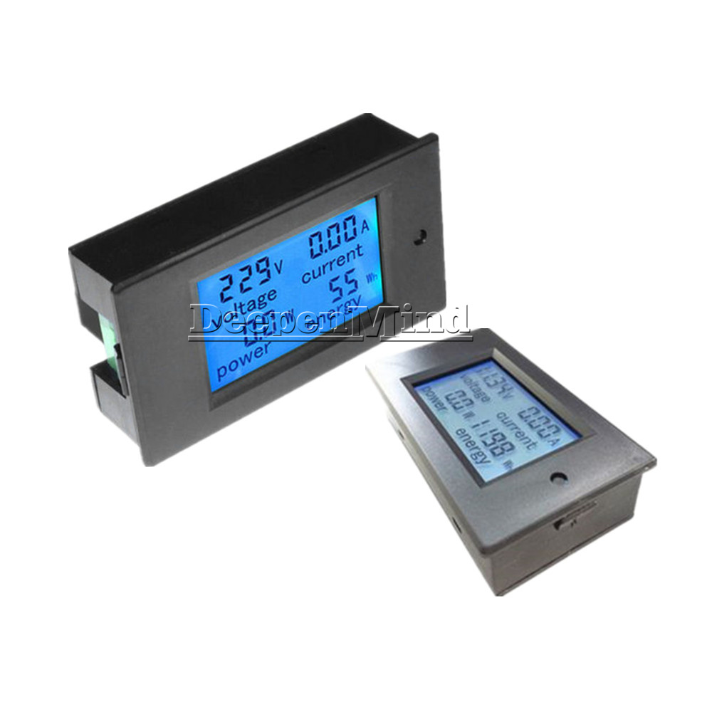 Digital-50A-LCD-Volt-Watt-Current-Power-Meter-Ammeter-Voltmeter-Meter-Shunt thumbnail 12