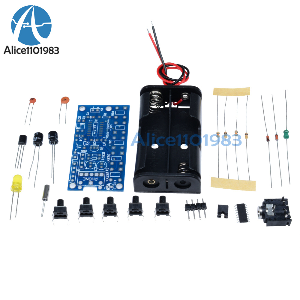 Wireless Stereo Fm Radio Receiver Module Pcb Diy Electronic Kits Circuit Board In Shenzhen Factory Buy Am 1 Suite Variety Of Components A Plurality Resistors Capacitors Inductors Diodes Integrated Circuits