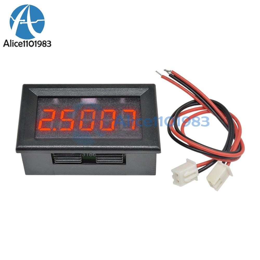 details about red led 5 digit dc 0 4 3000 33 000v digital voltmeter voltage meter car panel how to use a multimeter pdf generic 2pcs 5v 70v digital display