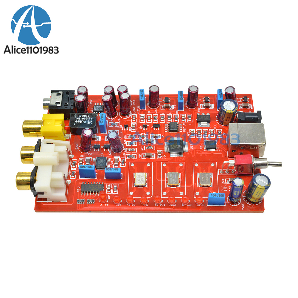 PCM5102A Stereo DAC Decoder I2S 24bit Player Module Beyond ES9023 PCM179fw