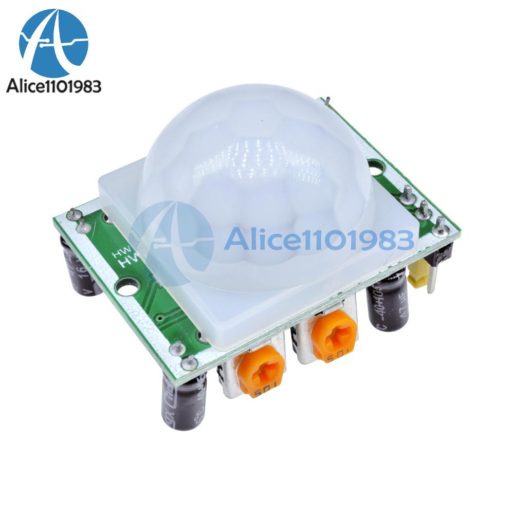 NEW 3Pcs HC-SR501 Human Infrared Sensor Module Including Lens