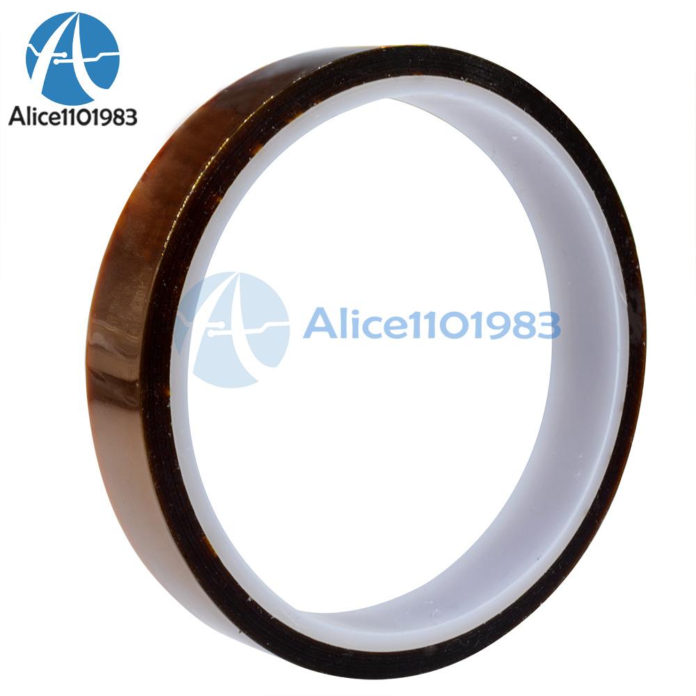 15mm 1.5cm X 33m 100ft Kapton Tape High Temperature Heat Resistant Polyimide