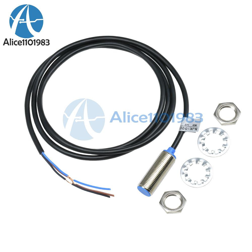 5PCS NJK-5002C Hall Effect Sensor Proximity Switch NPN 3-Wires Normally Open