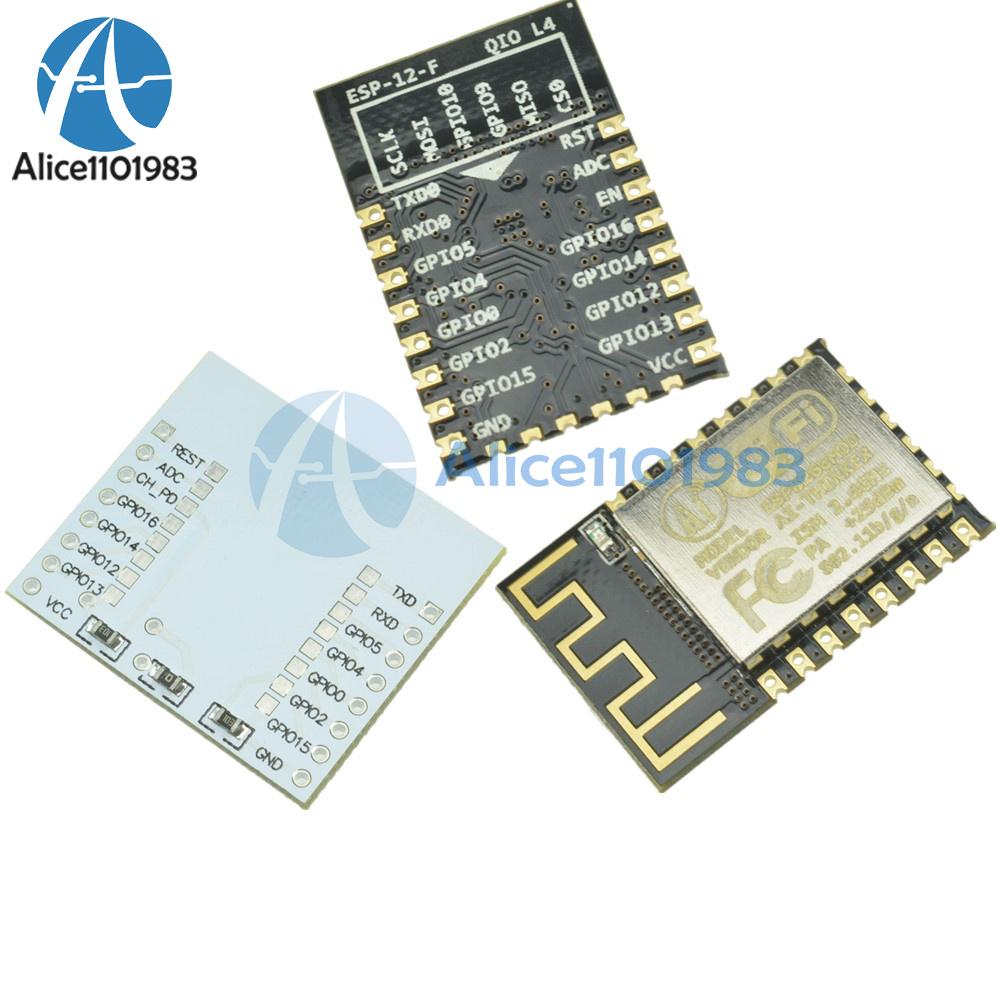 New ESP8266 ESP-12F WiFi Wireless Microcontroller Module Arduino IDE TESTED
