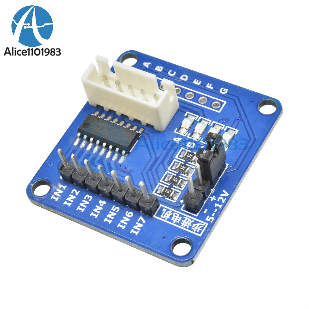 DC 5V ULN2003 Stepper Motor Driver Bore Test Module For Arduino AVR SMD
