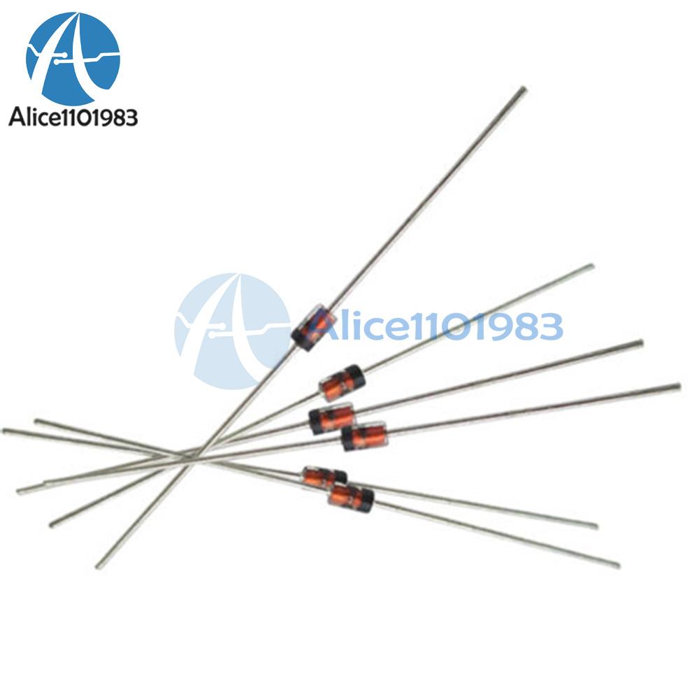 50pcs 1N4744A DO-41 1N4744 IN4744 1W 15V Zener Diodes