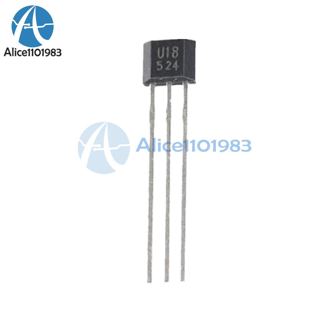 5PCS U18//US1881//OH188//1881 hall element sensor switch IC NEW