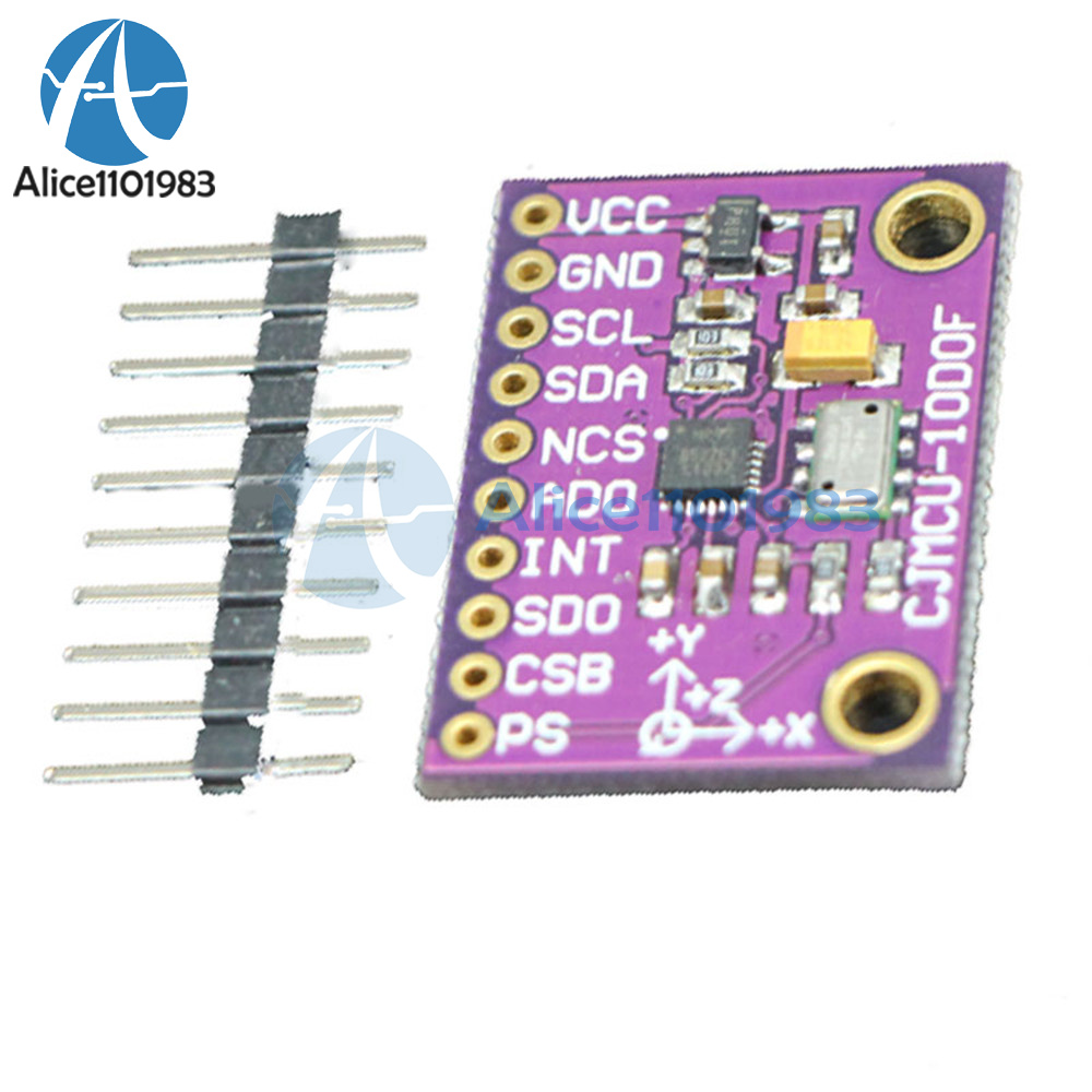 Details about SPI/IIC MPU-9250+MS5611 High Precision 9-Axis 10DOF Altitude  sensor Module