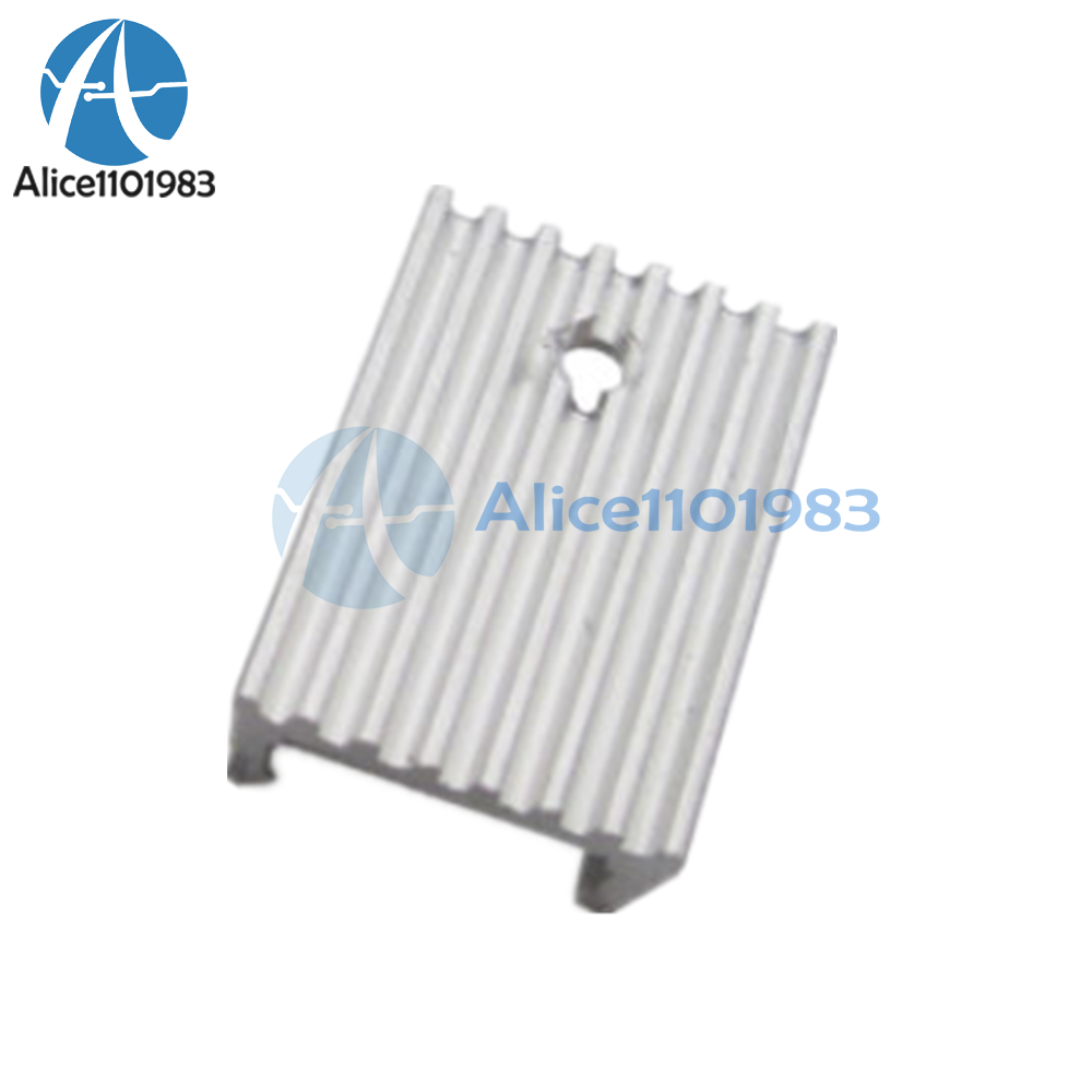 20PCS Heat Sink 21x15x10mm Aluminum Heat Sink TO-220 Transistors DIY
