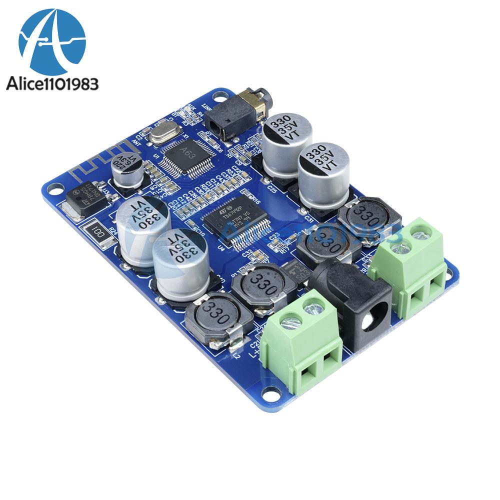 2X25W 2X50W TDA7492P Wireless Bluetooth 4.0//V2.1 Receiver Power Amplifier Board