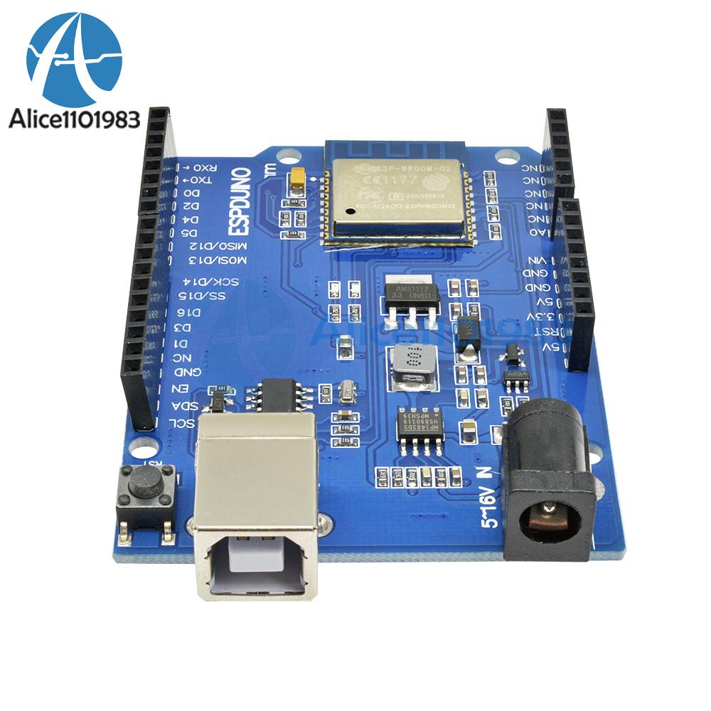 Upgraded ESPDuino Board ESP-13 UNO R3 With Wifi From ESP8266 Arduino UNO R3 UK