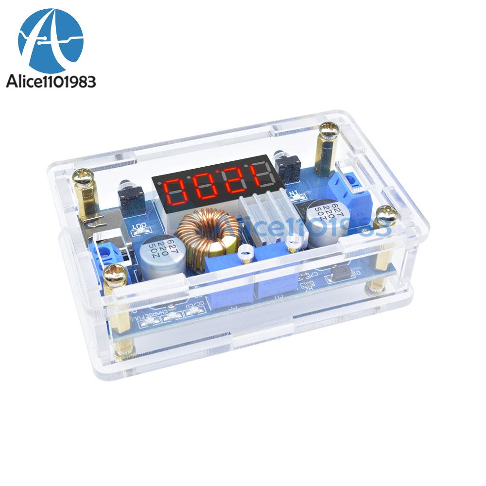 CASE 5A CC//CV W USB Voltmeter LED Drive Step down Lithium charger Power Module