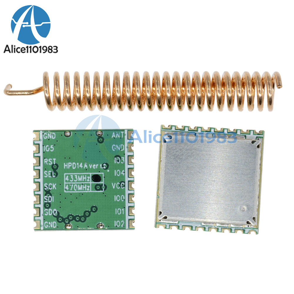 Details about 433MHz LoRa SX1278 long range RF wireless module DRF1278F For  Arduino
