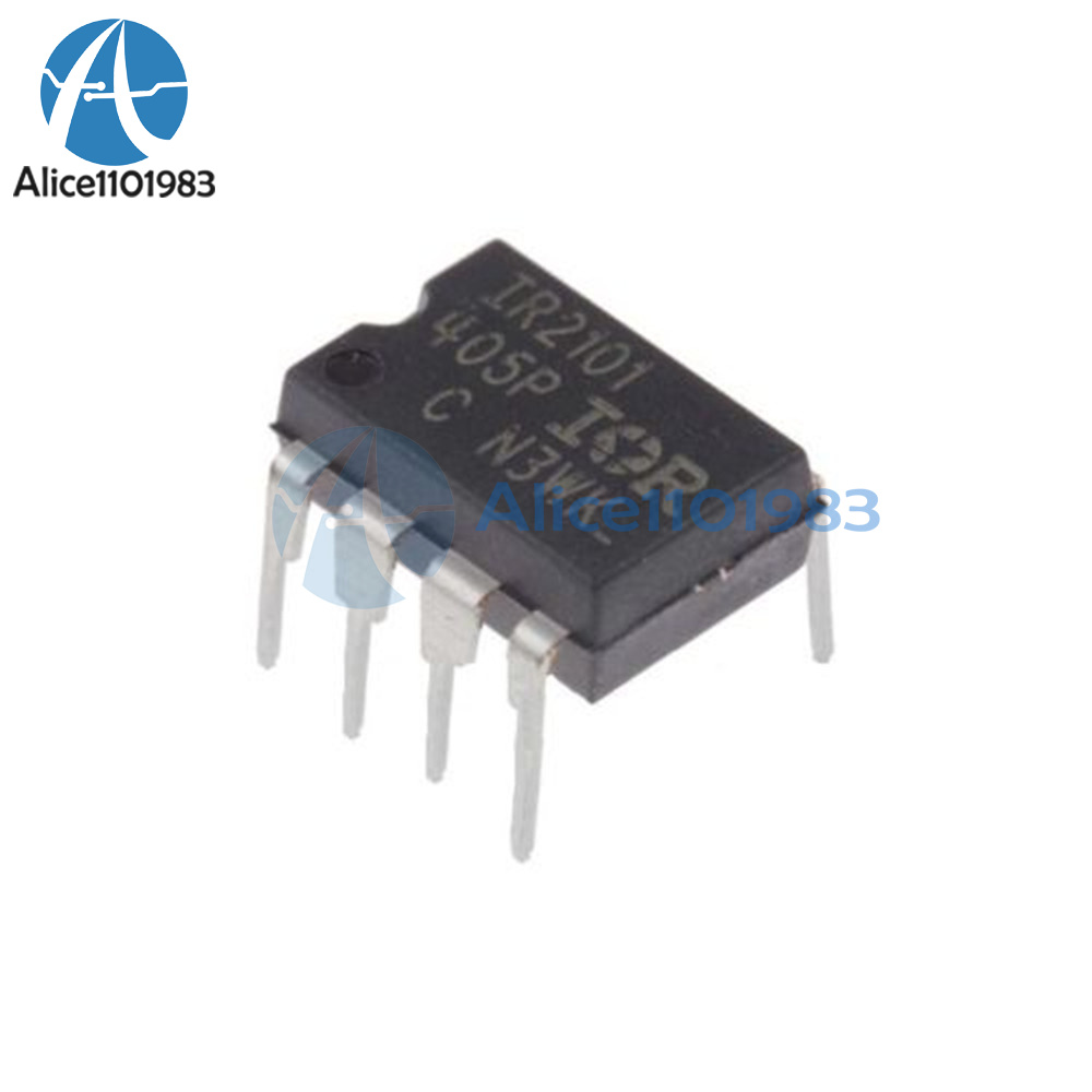10PCS IR2101 DIP8 HIGH AND LOW SIDE DRIVER NEW
