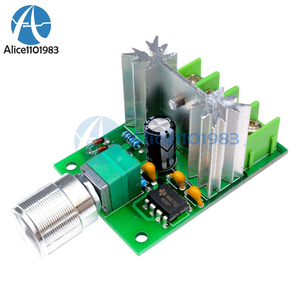 6a 6v 12v Dc Motor Speed Control Pulse Width Modulation Pwm Controller Circuit Received By Email 40106 Switch