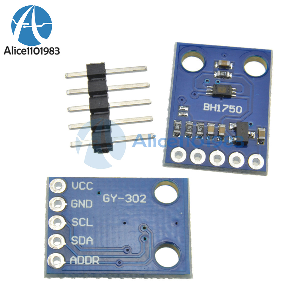 2PCS BH1750FVI Digital Light intensity Sensor Module 3V-5V For Arduino M115