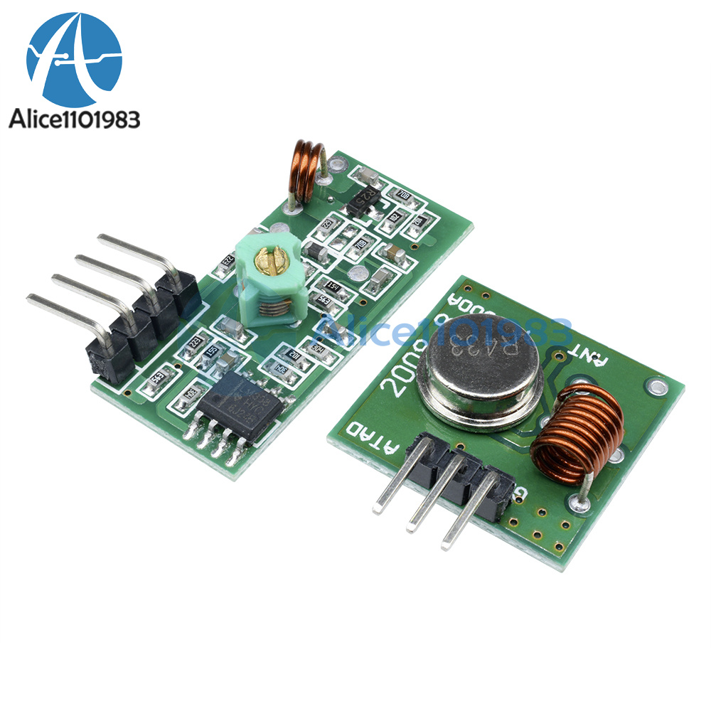 433mhz Rf Transmitter And Receiver Link Kit For Arduino Arm Mc U Infrared Remote Control Integrated Circuit Module Parameters