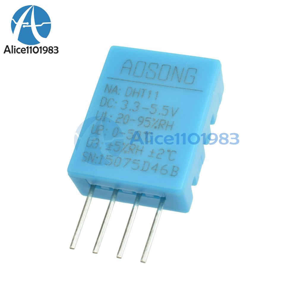 Dht11 Dht 11 Digital Temperature And Humidity Sensor Circuit 1