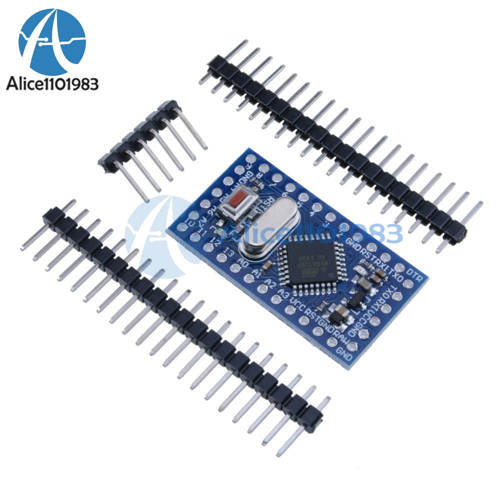 1//2//5//10//20PCS Pro Mini atmega328 Board 5V//3.3V 16M//8M Arduino Compatible Nano