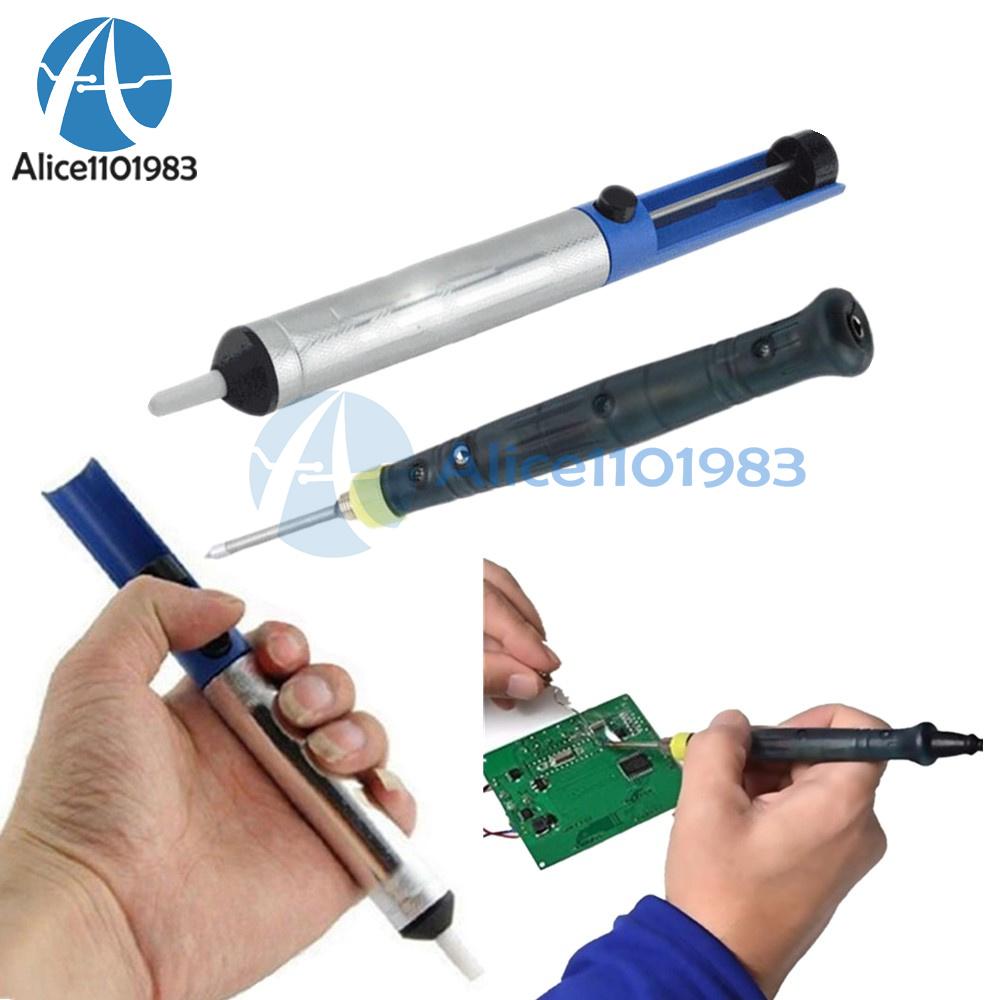 8W 5V Mini USB Powered Electric Soldering Iron Aluminum Solder Remover Sucker