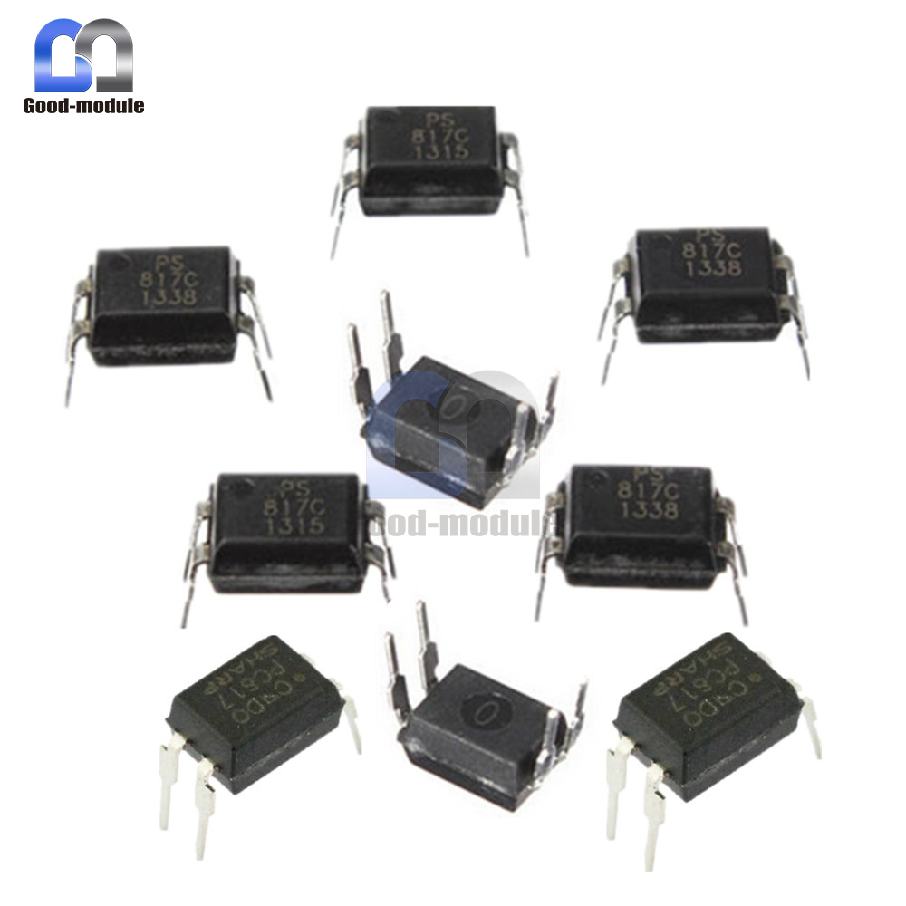 10pcs PC817 PC817C EL817 817 Optocoupler SHARP DIP-4 New High Quality JB