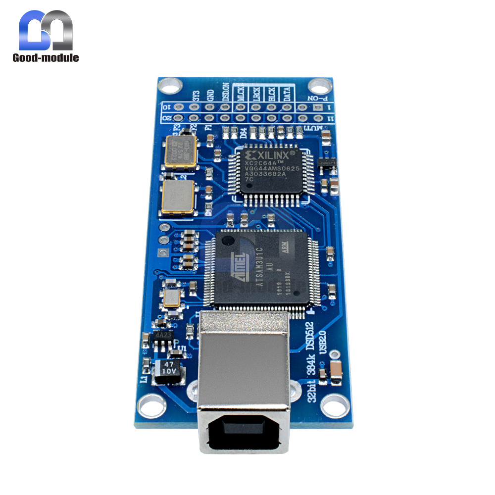 USB I2S Digital Interface Support DSD512 32bit 384Khz for amanero Gold Board