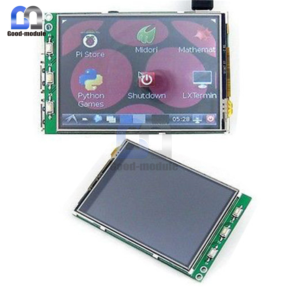 HMI LCD 2 //B 2.8//3.2//3.5//5.0 Inch LCD Touch Screen Display for Raspberry Pi 3