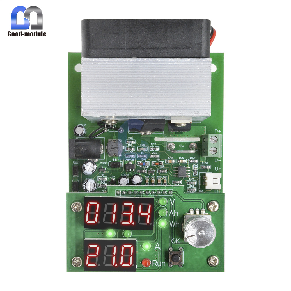 Constant Current Load 9.99A 60W 30V Battery Discharge Capacity Tester