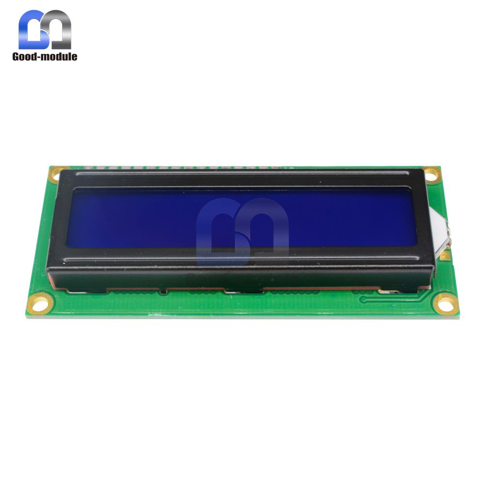 Blue Display IIC//I2C//TWI//SPI Serial Interface 1602 16X2 LCD Module TOP GM
