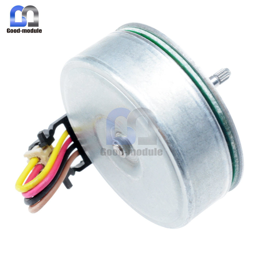 1PCS DC Brushless Motor 3-phase 9-Pole Coil Outer Rotor NEW L