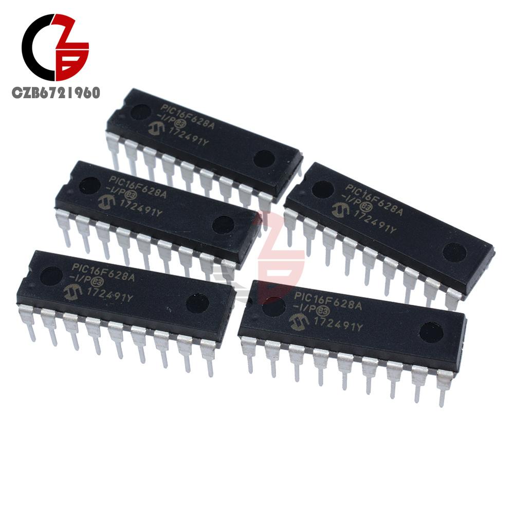 10PCS IC PIC16F628 PIC16F628A-I//P DIP-18 Microchip NEW