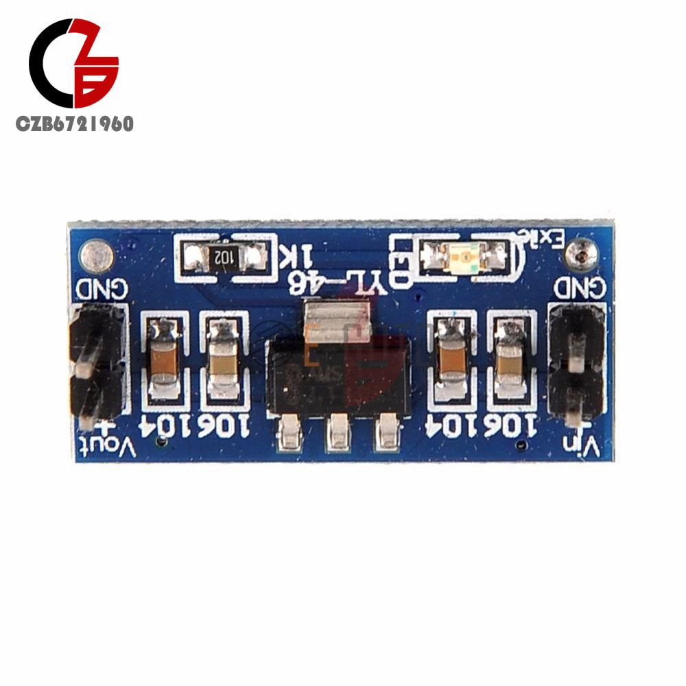 5PCS AMS1117 1.2~5V DC Step-Down Voltage Regler Adapter Convertor Supply Module