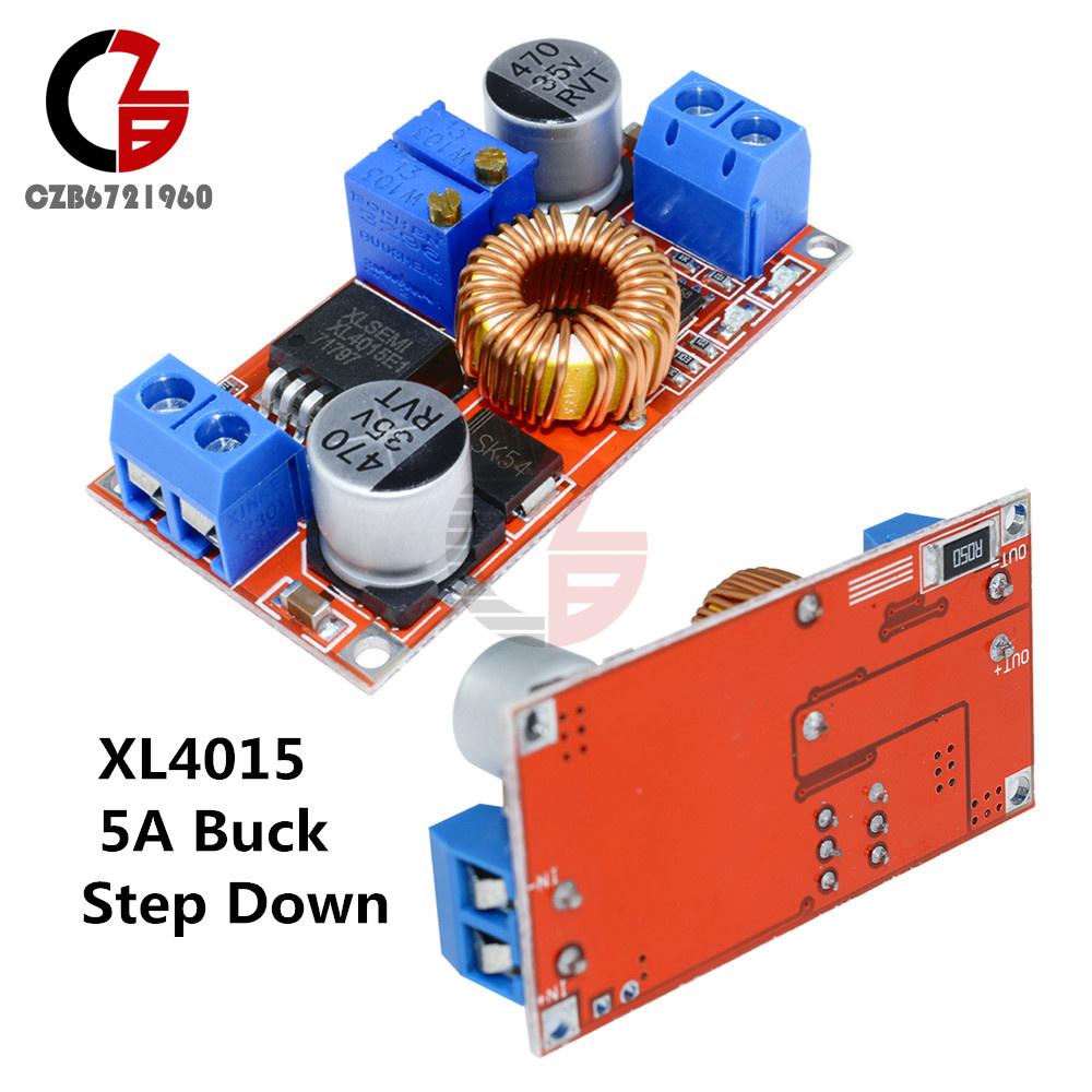 2PCS Lithium Charger Step down 5A 5V-32V to 0.8V-30V Power Supply LED Drive