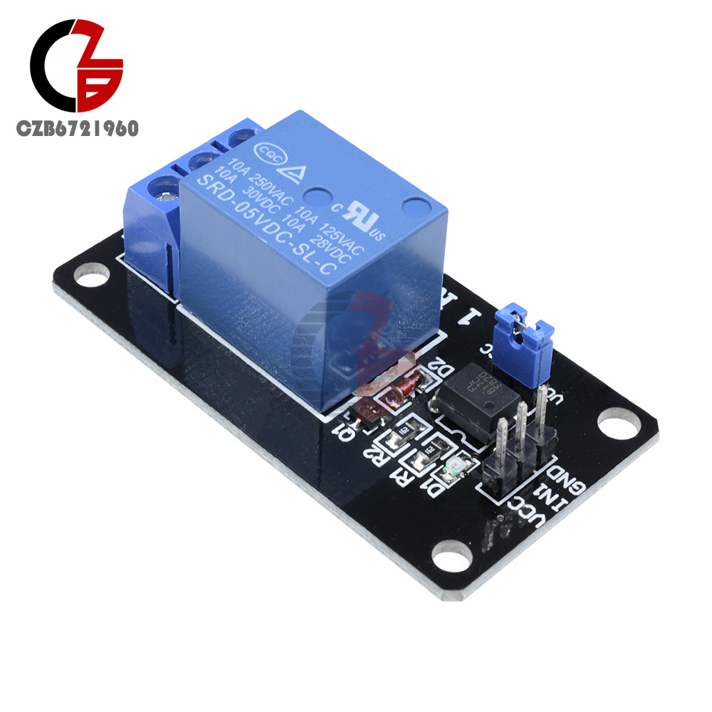 New One 1 Channel Isolated 5v Relay Module With Optocoupler For Power Arduino This Is High Level Equiped 10a Ac 250v Dc 30v Specifications Pole Number Load