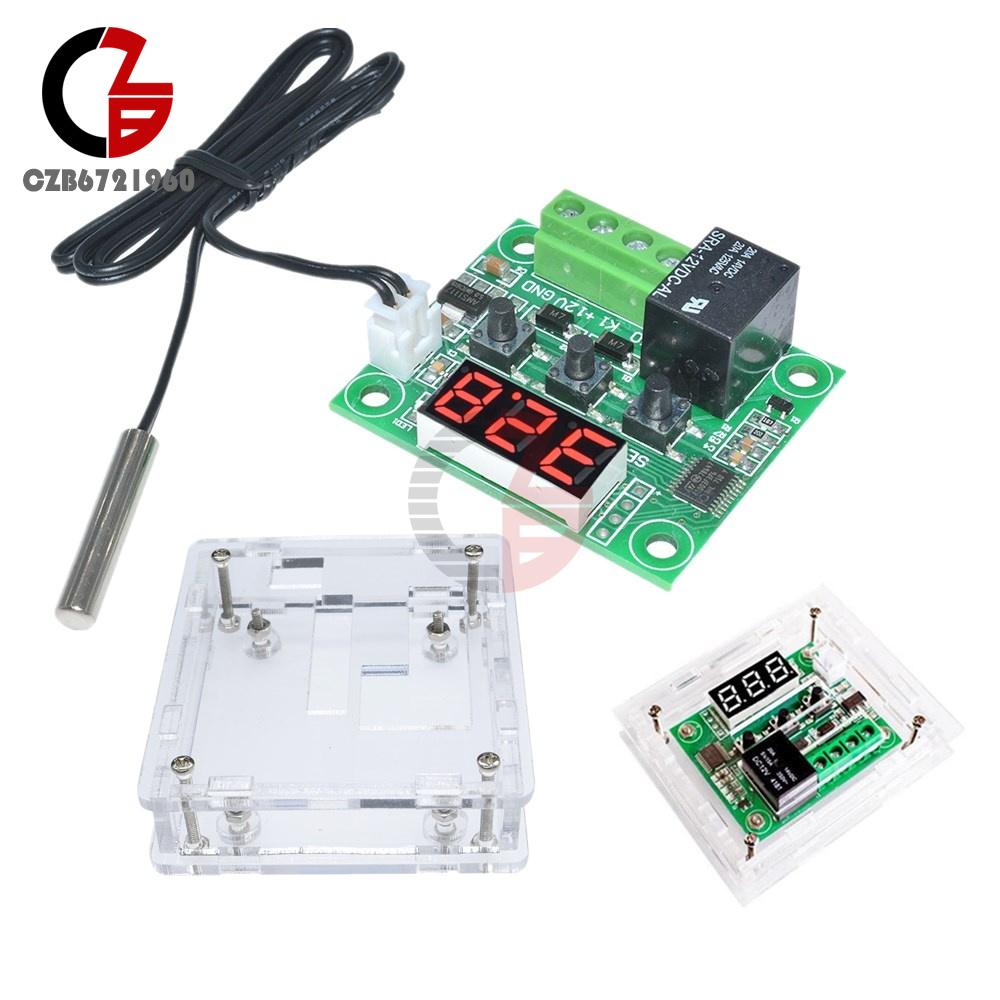 W1301 W1209//WK W1308 W3230 DC 12V Thermostat Temperature Control Switch Sensor