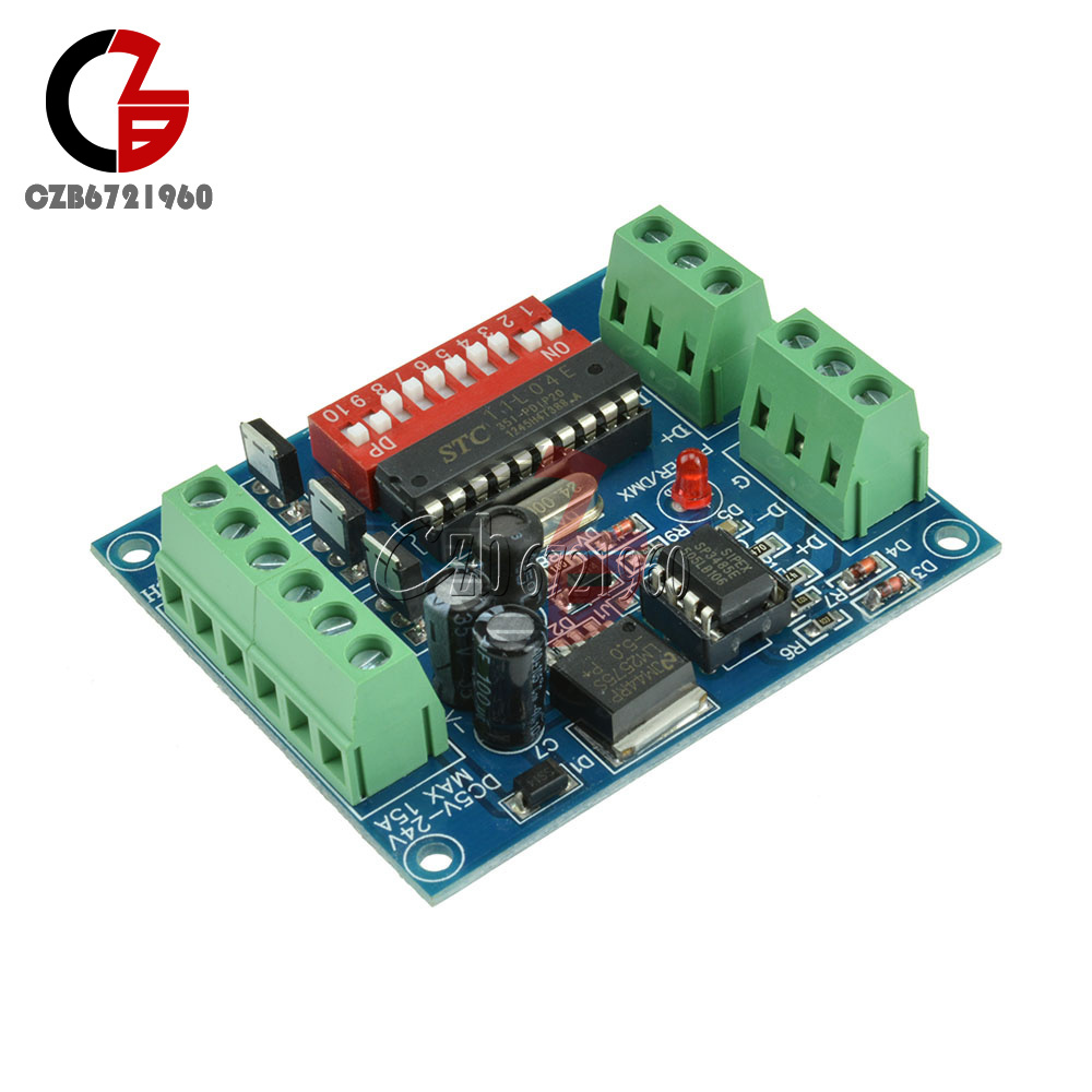 18-72-144W-300mA-6-12A-3-Channel-DMX512-Decoder-LED-RGB-Stage-Lighting-Driver thumbnail 27