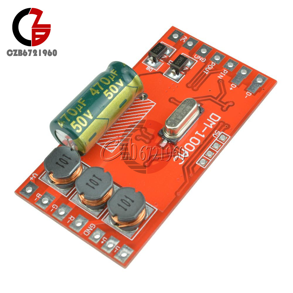 18-72-144W-300mA-6-12A-3-Channel-DMX512-Decoder-LED-RGB-Stage-Lighting-Driver thumbnail 14