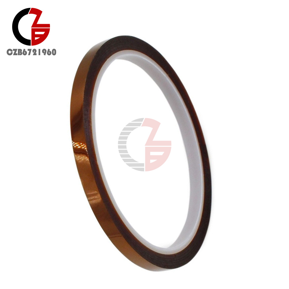 6mm Tape 33m 100ft BGA 260℃ High Temperature Heat Resistant Polyimide