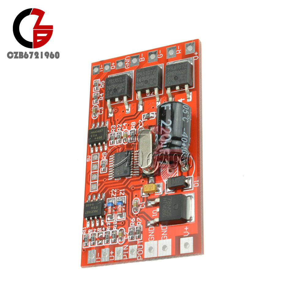 18-72-144W-300mA-6-12A-3-Channel-DMX512-Decoder-LED-RGB-Stage-Lighting-Driver thumbnail 22