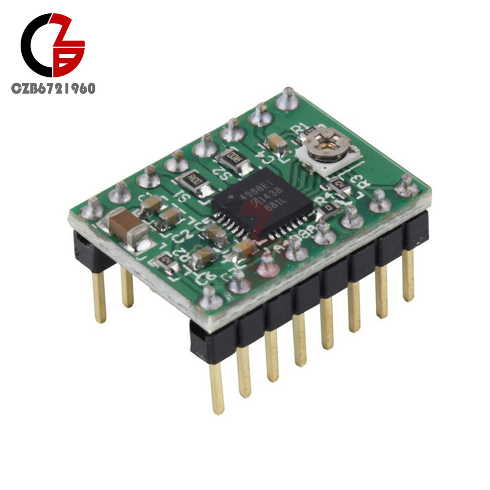 1//2//5//10 PCS A4988 Driver Module StepStick Stepper Motor For Reprap 3D Printer S