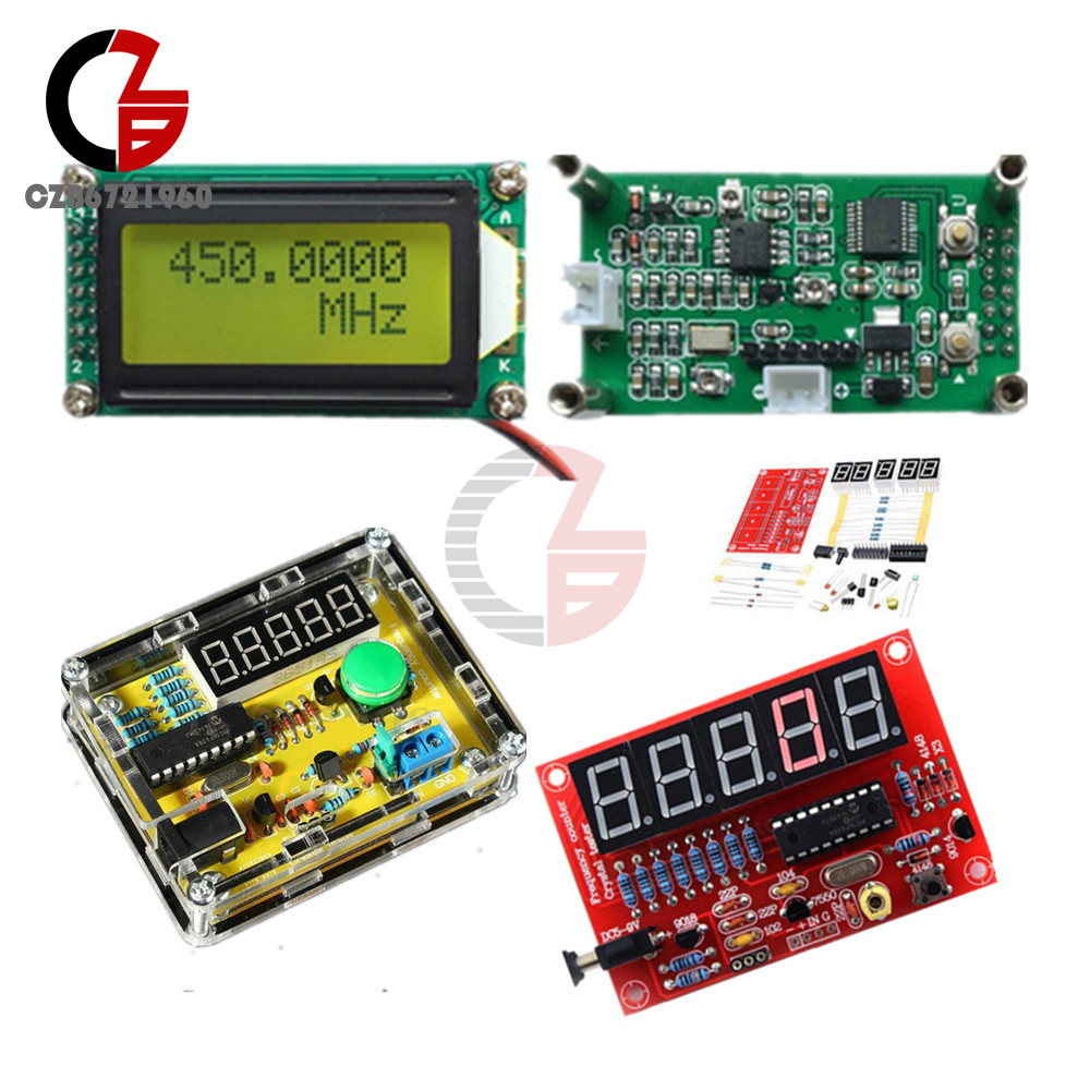 1hz 50mhz 1mhz 11ghz Frequency Counter Crystal Oscillator Tester Using Ttl Diy Kits Meter