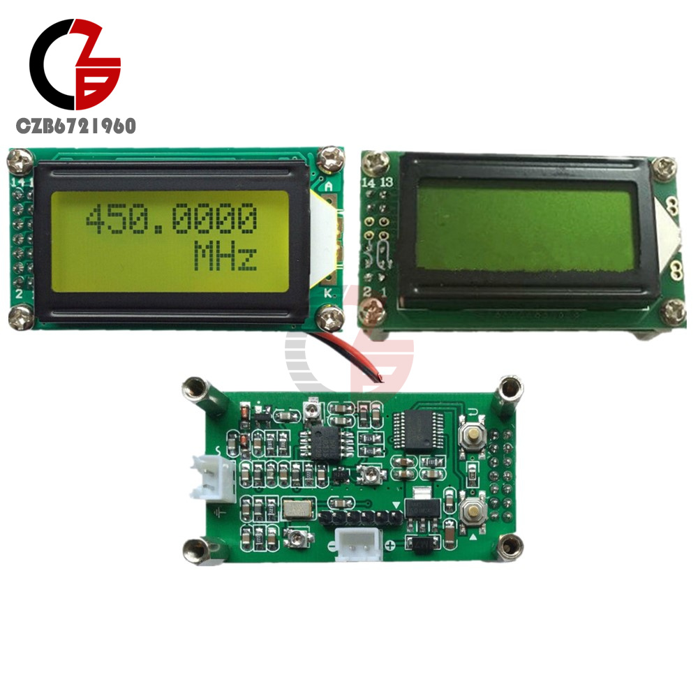 Digital LED 1 MHz  to 1GHz RF Singal Frequency Counter Tester Meter module RED