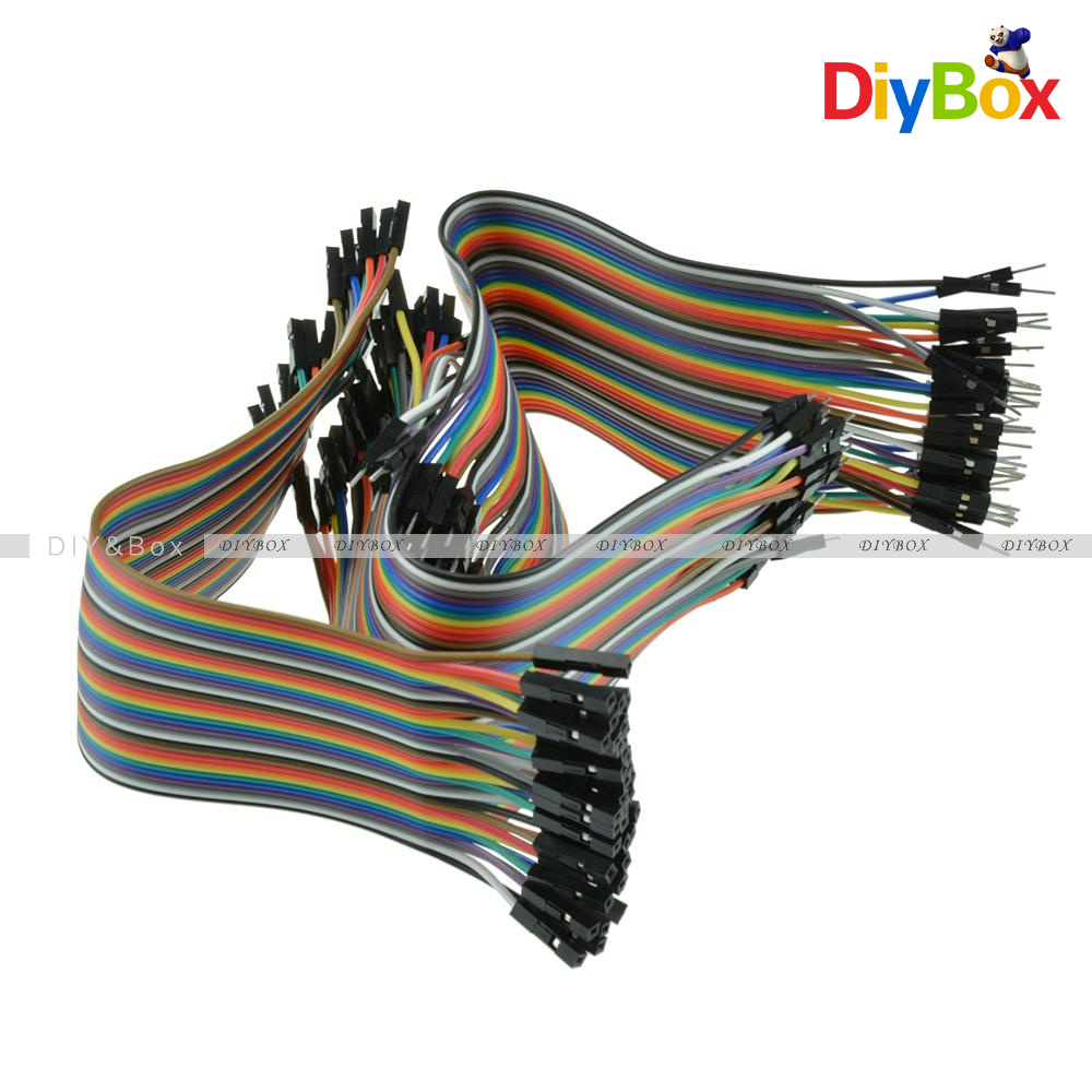 10-20CM-Multi-Dupont-Male-to-Female-Breadboard-Jumper-Wire-Raspberry-Pi-Arduino thumbnail 48