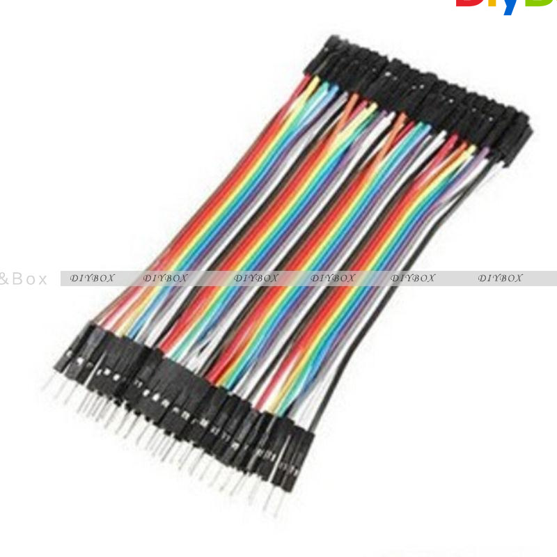 10-20CM-Multi-Dupont-Male-to-Female-Breadboard-Jumper-Wire-Raspberry-Pi-Arduino thumbnail 31