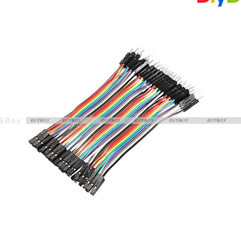 10-20CM-Multi-Dupont-Male-to-Female-Breadboard-Jumper-Wire-Raspberry-Pi-Arduino thumbnail 30
