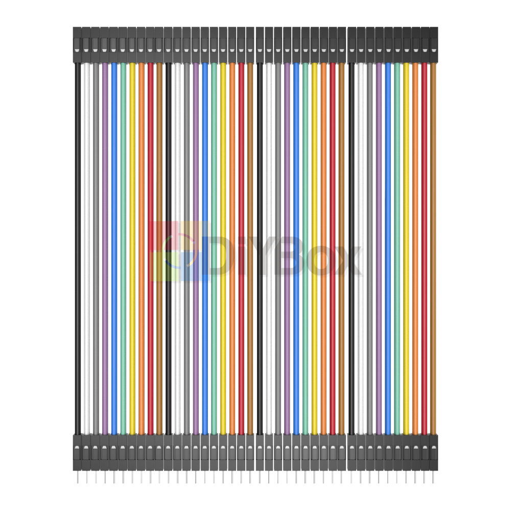 10-20CM-Multi-Dupont-Male-to-Female-Breadboard-Jumper-Wire-Raspberry-Pi-Arduino thumbnail 19
