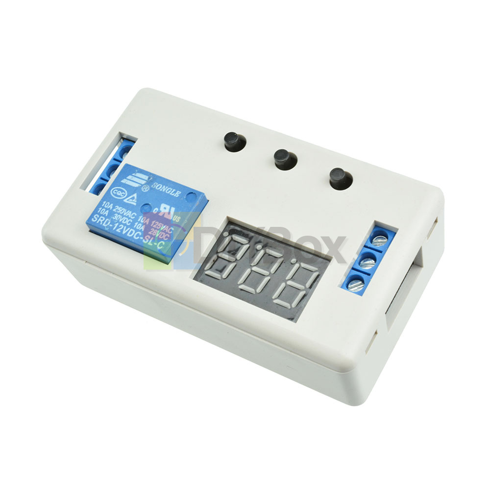 12V-Digital-Dual-LED-Delay-Relay-Automation-Cycle-Timer-Control-Switch-Module thumbnail 13