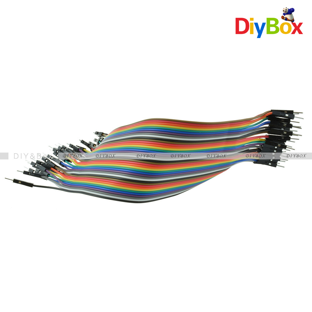 10-20CM-Multi-Dupont-Male-to-Female-Breadboard-Jumper-Wire-Raspberry-Pi-Arduino thumbnail 43