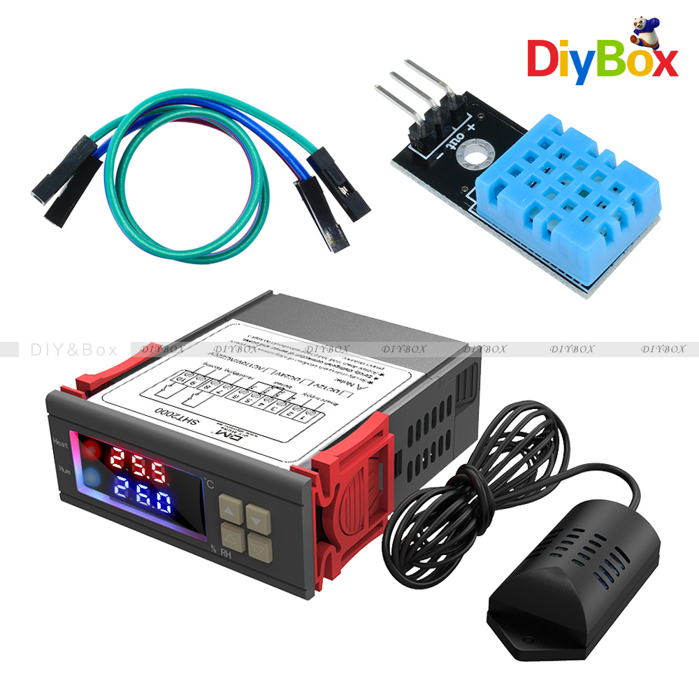 Details about SHT20 SHT2000 DHT11 Temperature Thermostat Humidity Sensor  Controller f/ Arduino
