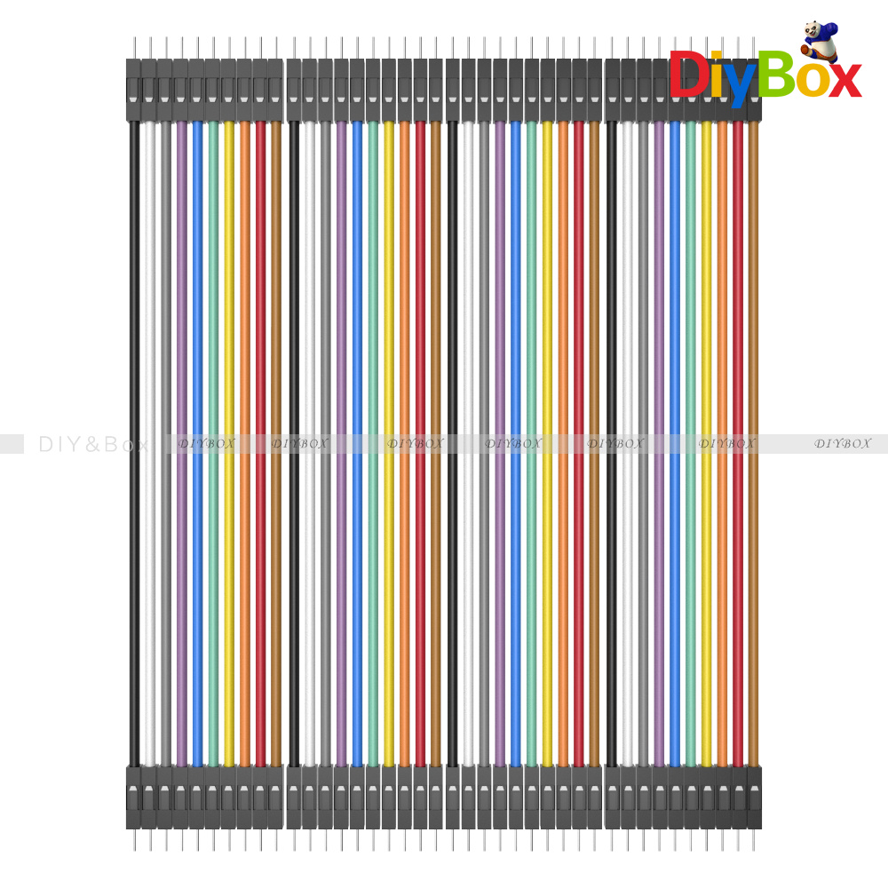 10-20CM-Multi-Dupont-Male-to-Female-Breadboard-Jumper-Wire-Raspberry-Pi-Arduino thumbnail 24